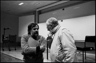 Smooth talkers Zizek & Badiou