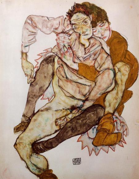 Schiele Embrace