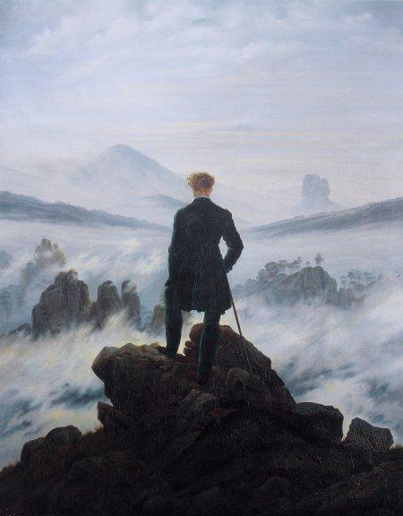 Wanderer fog Friedrich